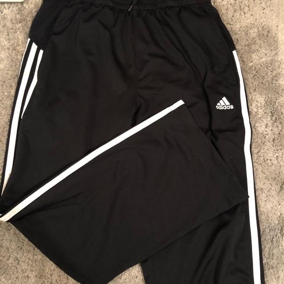 adidas Pants - Adidas 3 stripe sweatpants
